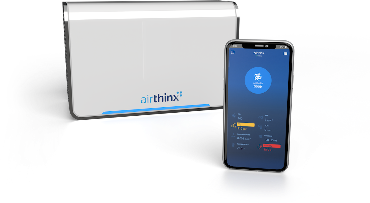 Airthinx Sopthisticated Air Quality Device